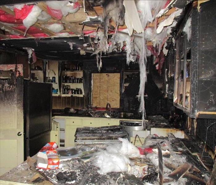 Fire Damage in Wilson, NC Before