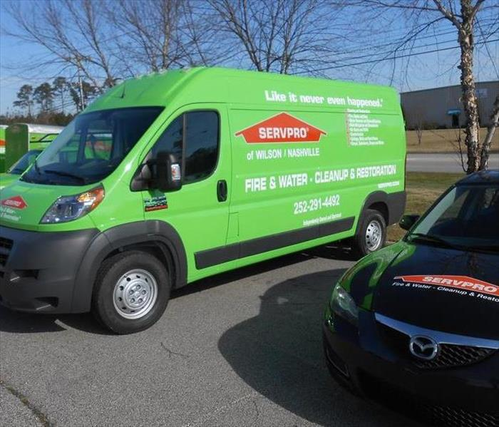 General For Immediate Service in Wilson or Nash County, Call SERVPRO